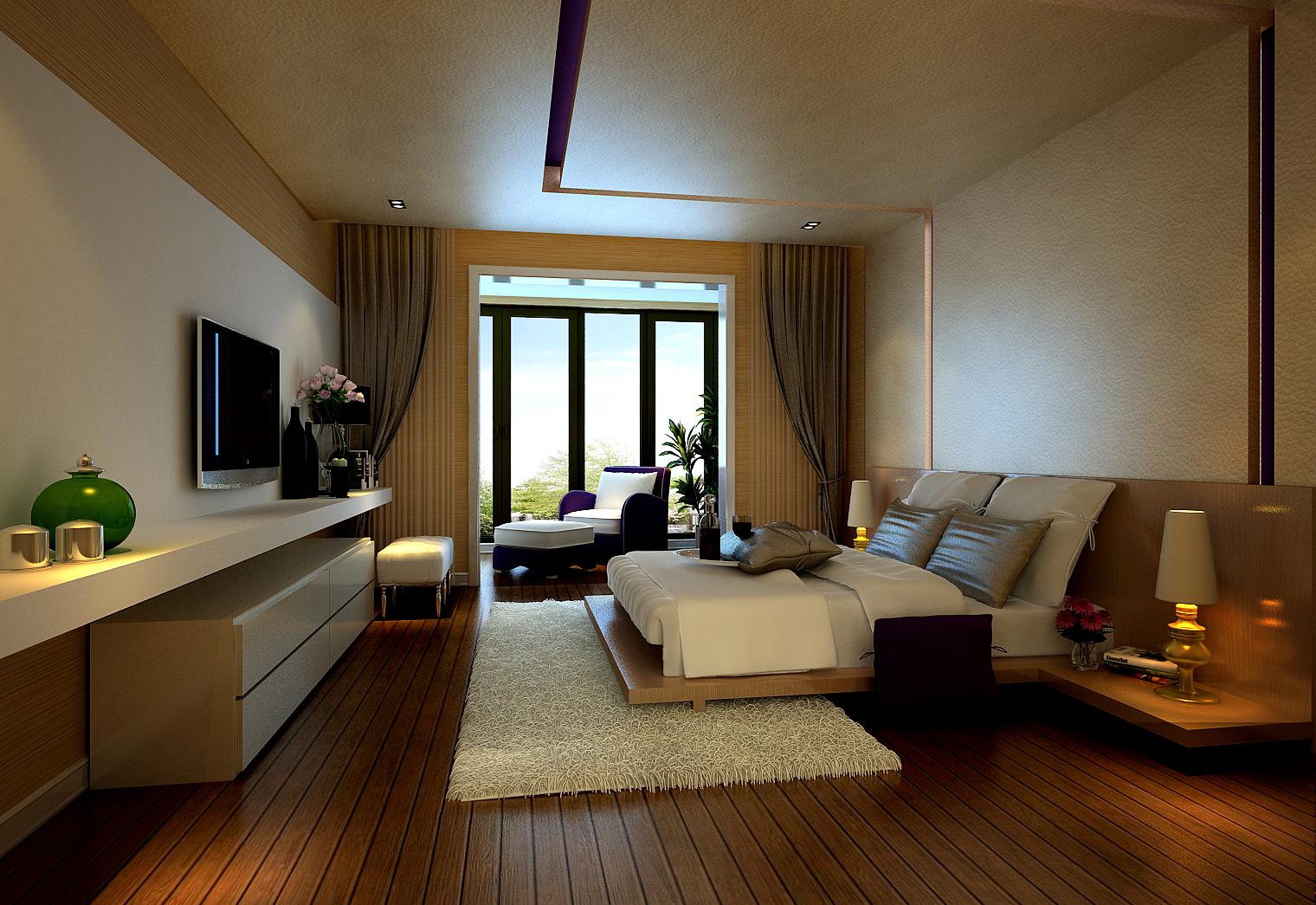 别墅装修 别墅设计 装修设计 尚层装饰 北京尚层 软装配饰 卧室图片来自北京别墅装饰在舒适,现在+智能化的现在风格的分享