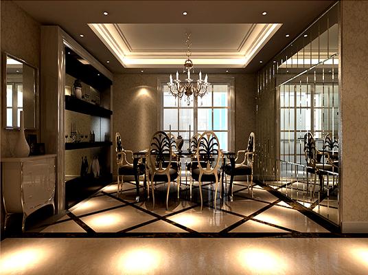 二居 欧式 收纳 旧房改造 小资 餐厅图片来自刘建勋在两居室装修效果的分享