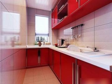 天津尚层装饰厨房装修设计案例