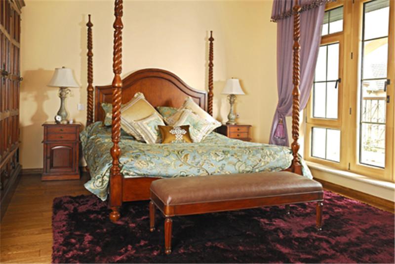 别墅 意式乡村风 托斯卡纳 卧室图片来自尚层装饰张迪在西山林语意式乡村托斯卡纳风格的分享