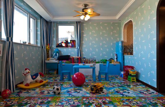 别墅 儿童房图片来自博览天下在龙湖花盛香醍-348平米欧式风格的分享