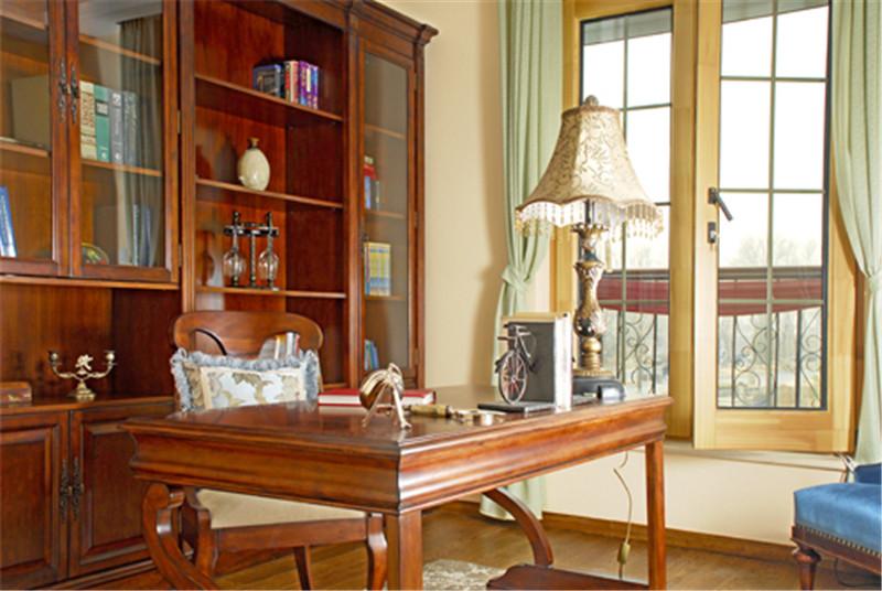 别墅 意式乡村风 托斯卡纳 书房图片来自尚层装饰张迪在西山林语意式乡村托斯卡纳风格的分享