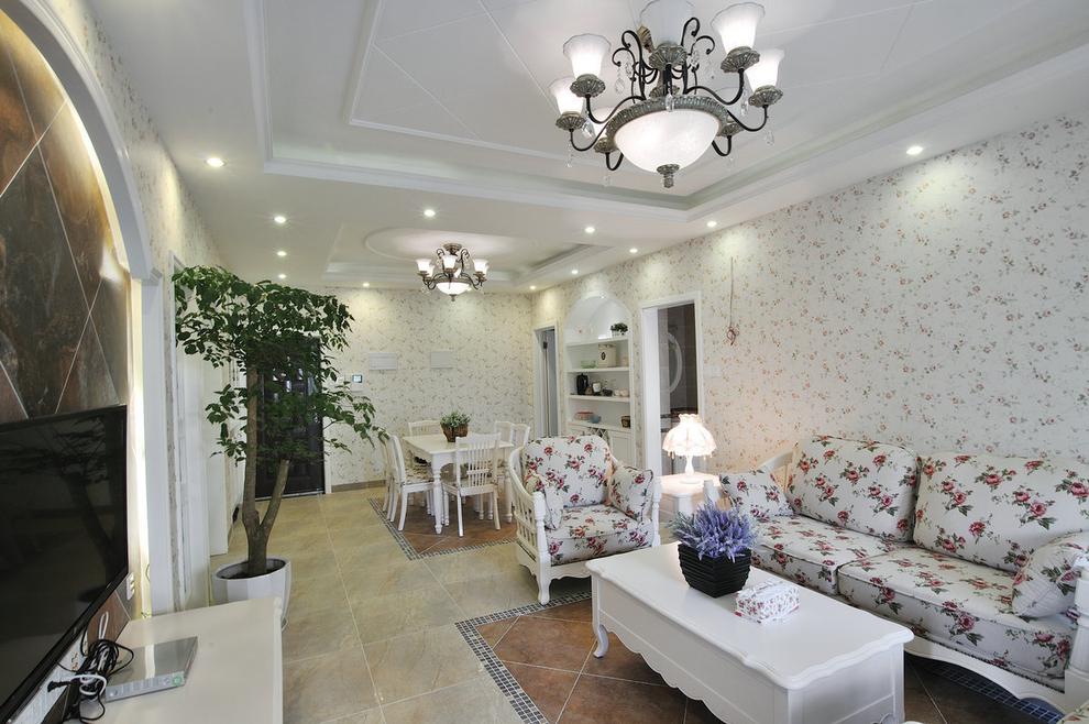田园 乡村 loft 三居 80后 小资 客厅图片来自沪上名家装饰在法式优雅乡村--伍号院的分享