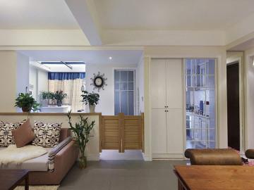 90平混搭二居室小次卧巧改大客厅