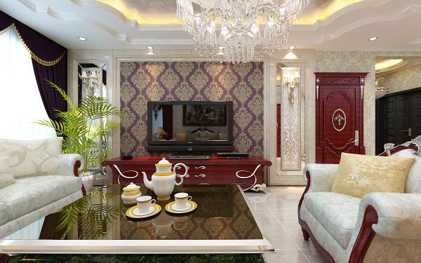 新古典主义风格的设计从简单到繁杂、从整体到局部,精雕细琢,镶花刻金都给人一丝不苟的印象。