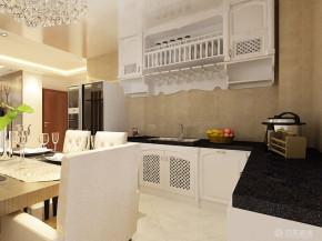 港式 二居 白领 收纳 80后 小资 厨房图片来自阳光力天装饰在平墅华府-100㎡- 港式风格的分享