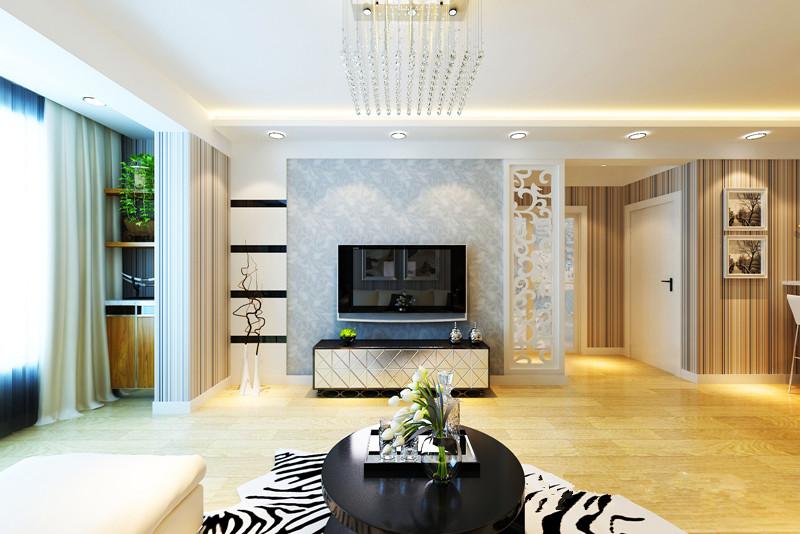 现代风格 百家装饰 混搭 二居 名流印象 婚房装修 客厅装修 客厅图片来自百家装饰小姜在名流印象89平现代风格的分享