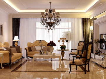 丹东金典雅苑180欧式风格