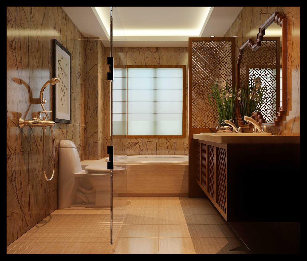别墅 80后 小资 卫生间图片来自峰上大宅在峰上大宅远洋公馆220平案例的分享
