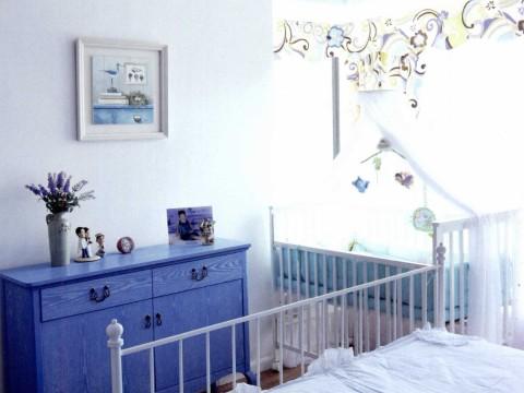 地中海 三居 白领 旧房改造 儿童房图片来自今朝装饰李海丹在130平米三居地中海的分享