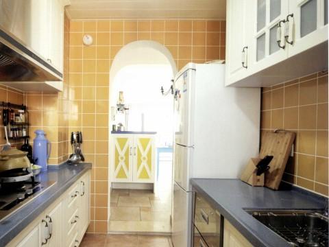 地中海 三居 白领 旧房改造 厨房图片来自今朝装饰李海丹在130平米三居地中海的分享