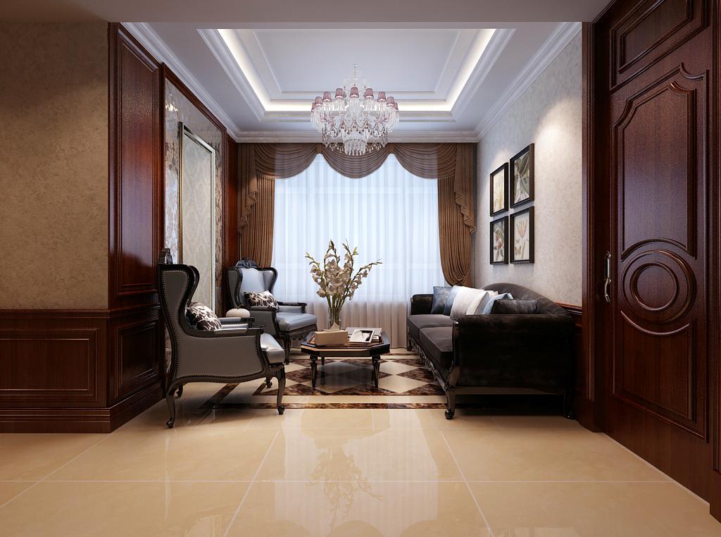 别墅 白领 小资 客厅图片来自峰上大宅在峰上大宅远洋公馆220平的分享