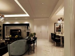 三居 白领 收纳 80后 小资 现代 后现代 客厅 餐厅 其他图片来自百家装饰小迪在汇邦-克莱枫丹118平后现代风格的分享