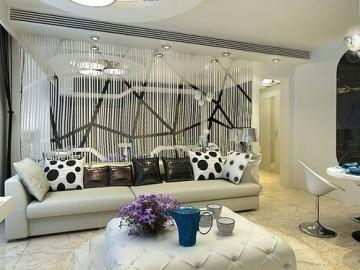 天津尚层客厅设计案例