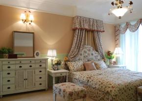 田园 二居 温馨 舒适 卧室 卧室图片来自成都幸福魔方装饰工程有限公司在温馨舒适田园风的分享