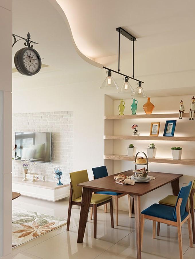 二居 简约 现代 今朝老房 旧房改造 餐厅图片来自今朝装饰--刘莎在宜家风格缤纷多彩的90平两居的分享