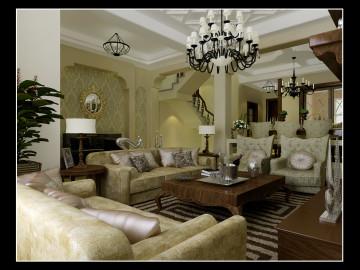 碧桂园380平米古典风格