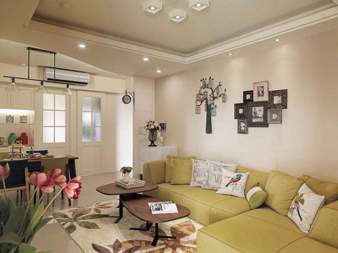 二居 简约 现代 今朝老房 旧房改造 客厅图片来自今朝装饰--刘莎在宜家风格缤纷多彩的90平两居的分享