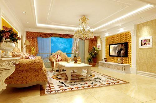 本案的设计风格为简约欧式,营造典雅、自然、高贵的气质、浪漫的情调是本案的主题。