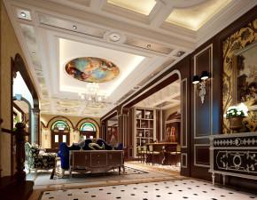 新古典 别墅 白领 尚层装饰 休息室 其他图片来自北京别墅装修案例在大气新古典带您走入皇宫般的家的分享