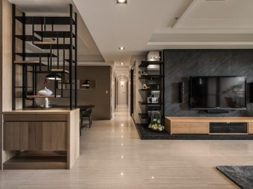 富有人文知性的348平米奢华住宅