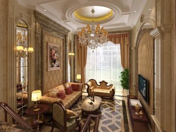 碧桂园300平欧式风格