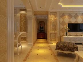 欧式 四居 白领 收纳 80后 小资 客厅 餐厅 其他图片来自百家装饰小迪在九洲湾景汇142平欧式风格的分享