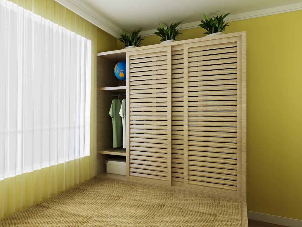 简约 二居 卧室图片来自多啦A梦的百宝袋在嘉榆新城80平的分享