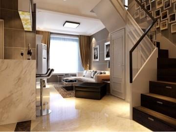 115平复式两居室鑫苑世家装修