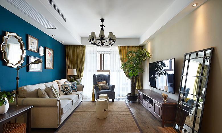 混搭 三居 小资 家居 阿拉奇设计 家庭装修 客厅图片来自阿拉奇设计在混搭风格家庭装修的分享