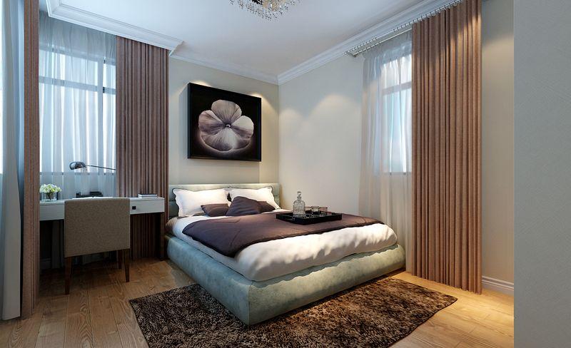 简约 现代 今朝装饰 回龙观 卧室图片来自今朝装饰小郭在回龙观60平米简约设计的分享