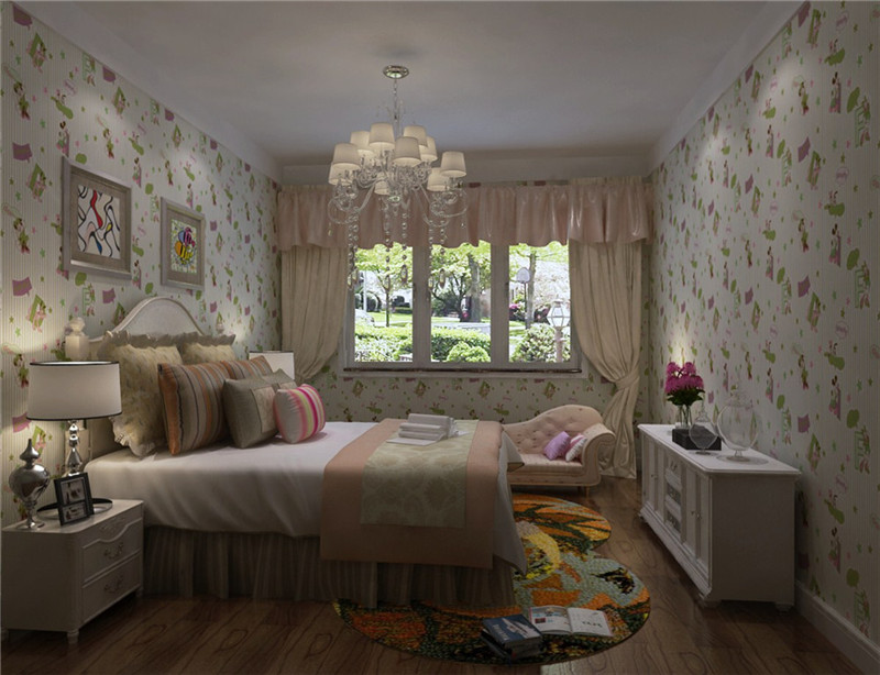 卧室图片来自石俊全在保利罗兰的分享