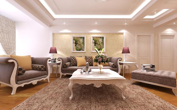 简约 欧式 三居 白领 收纳 80后 小资 客厅图片来自实创装饰百灵在奢华温馨三口之家  144平米的分享