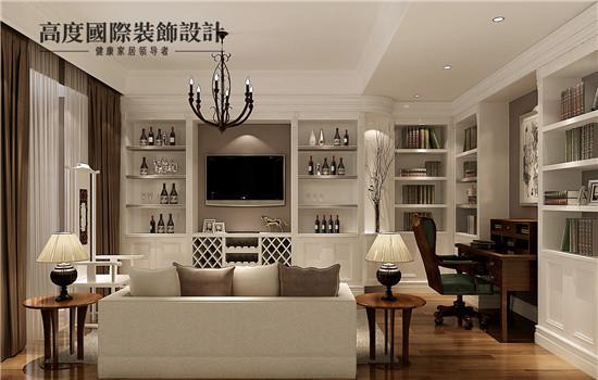 美式的客厅,显得又大气又简约