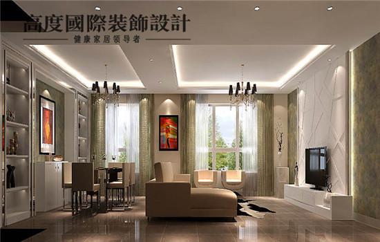 简约风格的客厅给人一种整洁,干净的直观体现