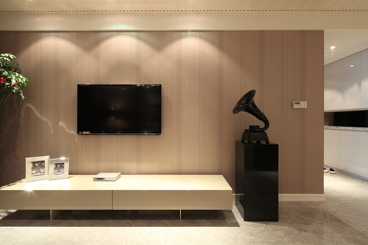 简约 别墅 小资 田园 客厅图片来自苹果装饰公司在大气四居室现代简约装修实例的分享