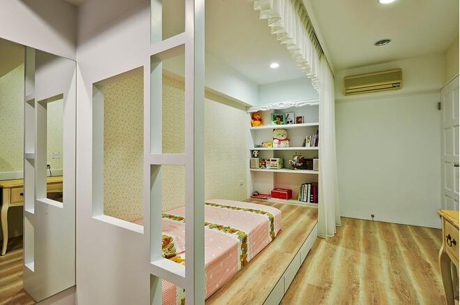 今朝装饰 老房装修 美式乡村风 恬静 温暖 卧室图片来自北京今朝装饰在交道口--美式的温暖乡村风的分享