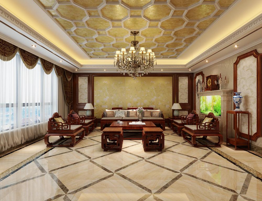 新中式 新房装修 城市人家 旧房改造 80后 客厅图片来自城市人家李浩然在奢华清新并存-雅俗共赏的分享