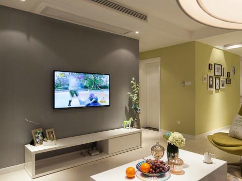 欧式 二居 白领 旧房改造 客厅图片来自今朝装饰李海丹在90㎡丰台浪漫、时尚婚房的分享