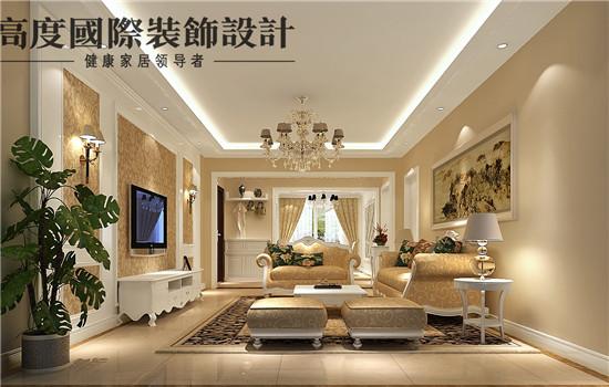 欧式 平层 豪华 大气 奢侈 客厅图片来自高度老杨在玺萌公馆欧式设计的分享