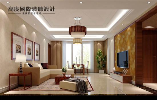 简约 实用 完美 饱满 客厅图片来自高度老杨在东湖湾5#设计效果的分享