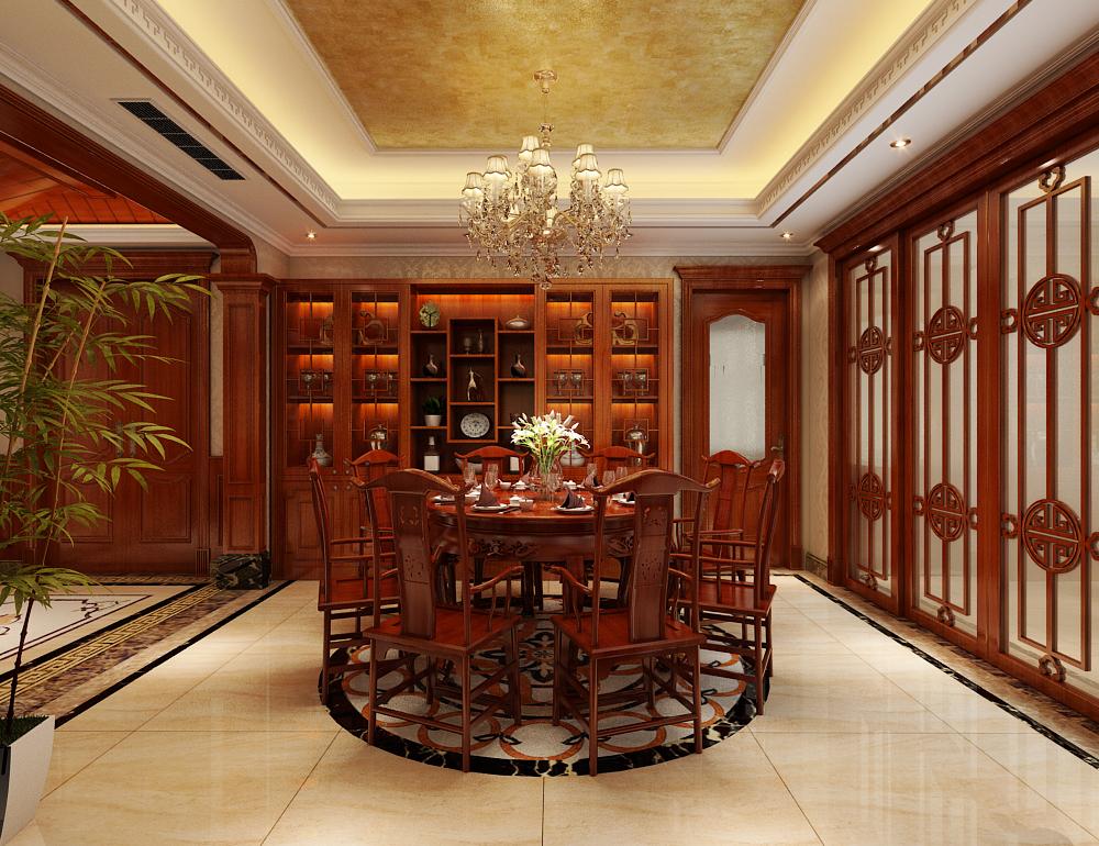 新中式 新房装修 城市人家 旧房改造 80后 餐厅图片来自城市人家李浩然在奢华清新并存-雅俗共赏的分享