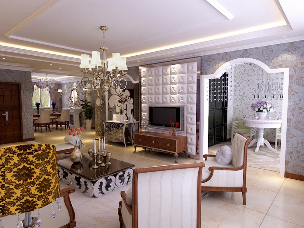 客厅图片来自tjsczs88在首创装饰-境界梅江-160平米的分享