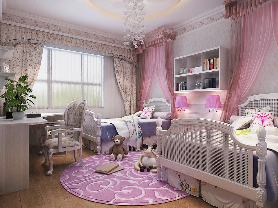 新中式 新房装修 城市人家 旧房改造 80后 儿童房图片来自城市人家李浩然在奢华清新并存-雅俗共赏的分享
