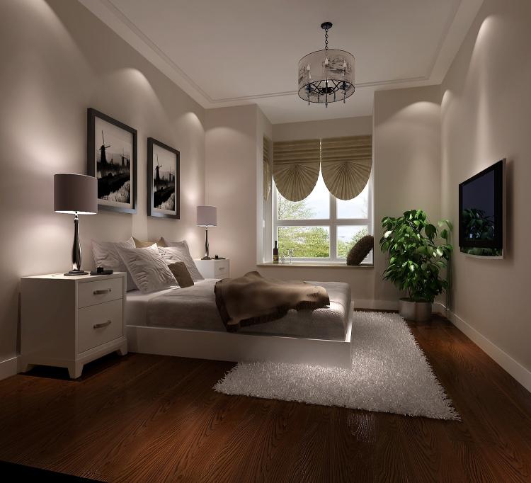 现代 卧室图片来自高度国际宋书培在珠江帝景三居室装饰效果图的分享