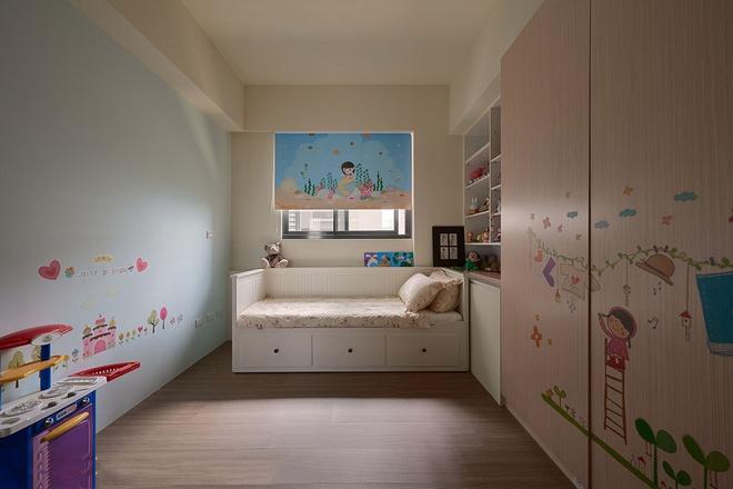 三居 优雅 新古典 儿童房图片来自业之峰装饰旗舰店在优雅的132平新古典三居的分享