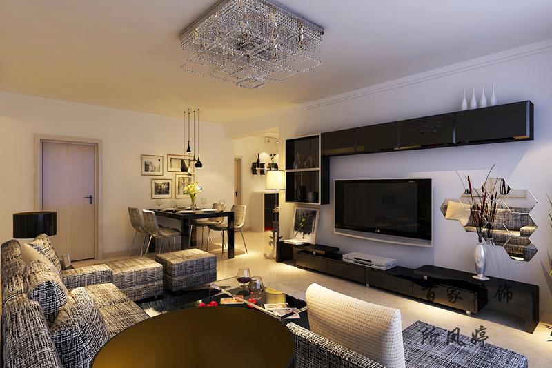 客厅图片来自百家装饰-小敬在惠民新苑的分享