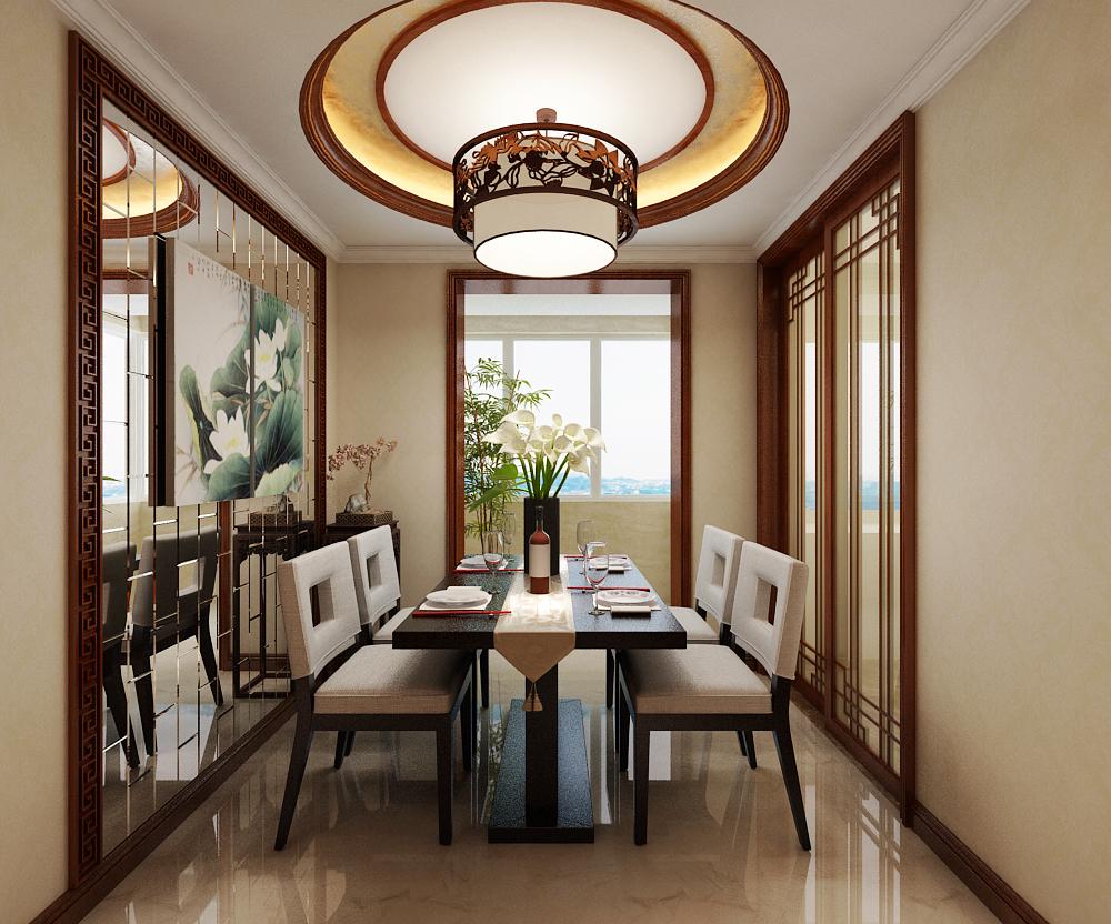 新中式 旧房改造 80后 新房装修 三居 餐厅图片来自城市人家李浩然在古典新中式给你不一样的人生的分享