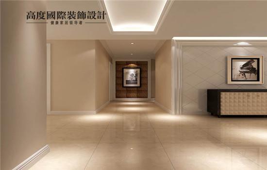 宽敞的门厅,大气,给客人的第一印象深刻