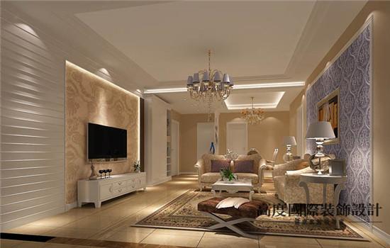 宽敞的客厅,大气,高端